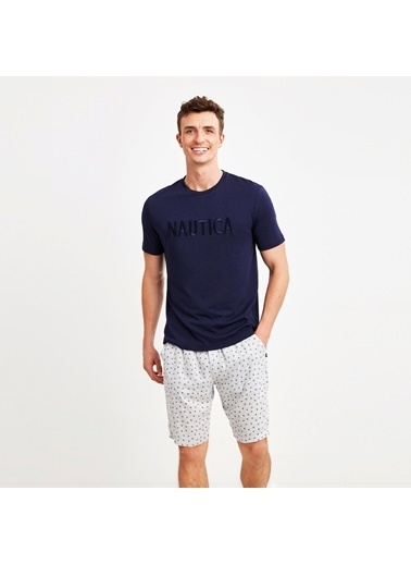Nautica M142SORTTK.LACI Nautıca Erkek Lacivert Pijama Takımı Lacivert